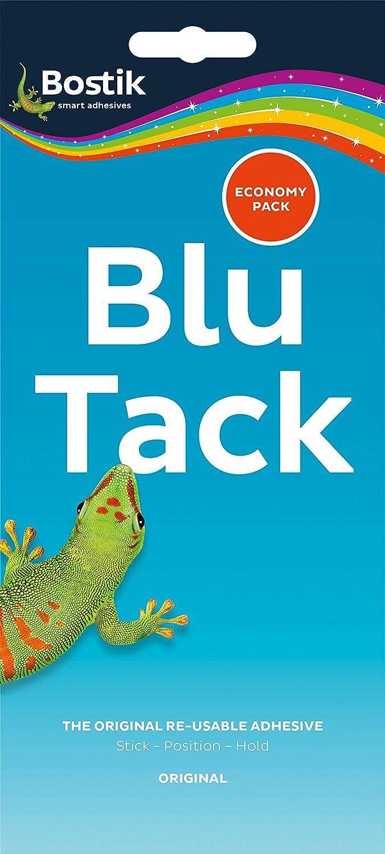 Bostik 80108 - Blu Tack Mastic Adhesive Economy Pack 80108 - Pack of 6