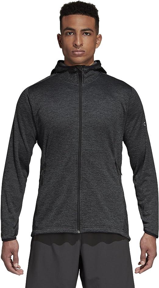 : adidas Men's Training Climawarm Fleece Hoodie