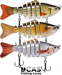 """4"""" Lifelike Fishing Lures 