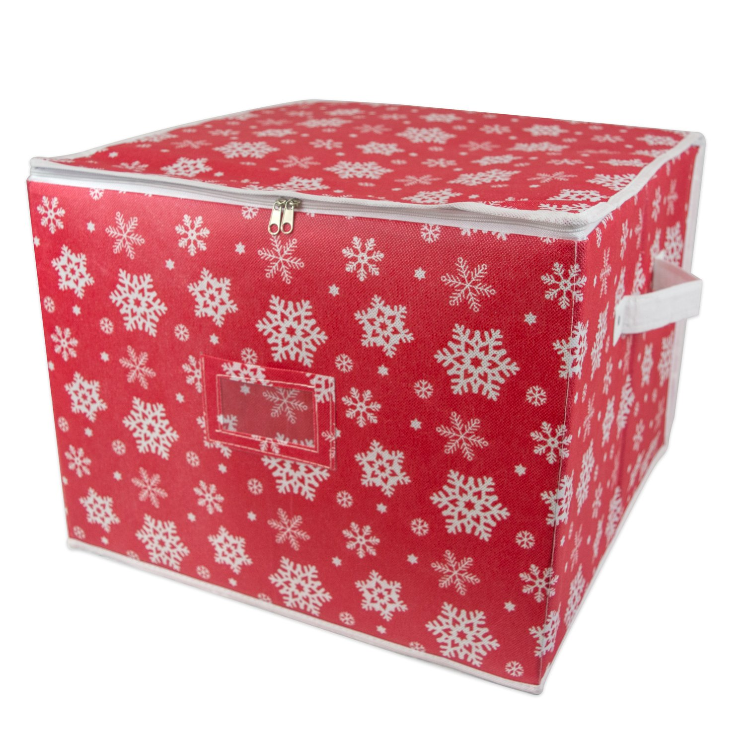 Amazoncom Dii Holiday Ornament Storage Bin With Dividers & Separators