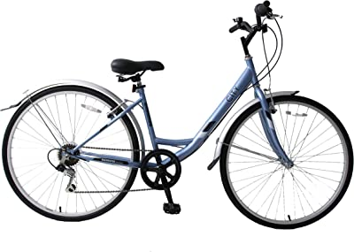 Professional Bikes Womens City Hybrid Bike