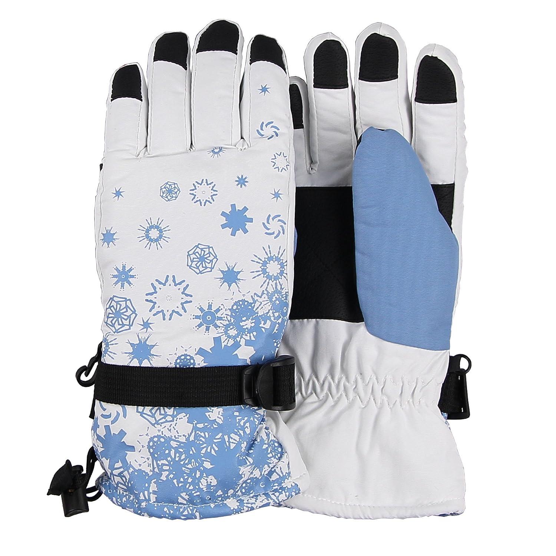 Women's 'Snowflake' Waterproof Thinsulate Ski Glove