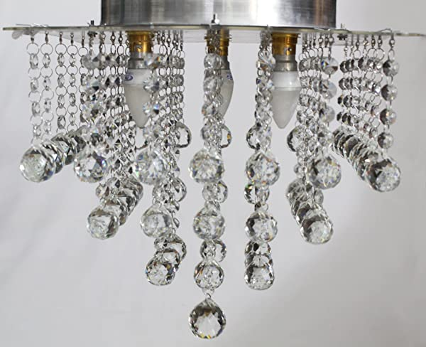 Buy discount4product modern fixture ceiling light lighting crystal discount4product modern fixture ceiling light lighting crystal pendant chandelier hq h6 aloadofball Images