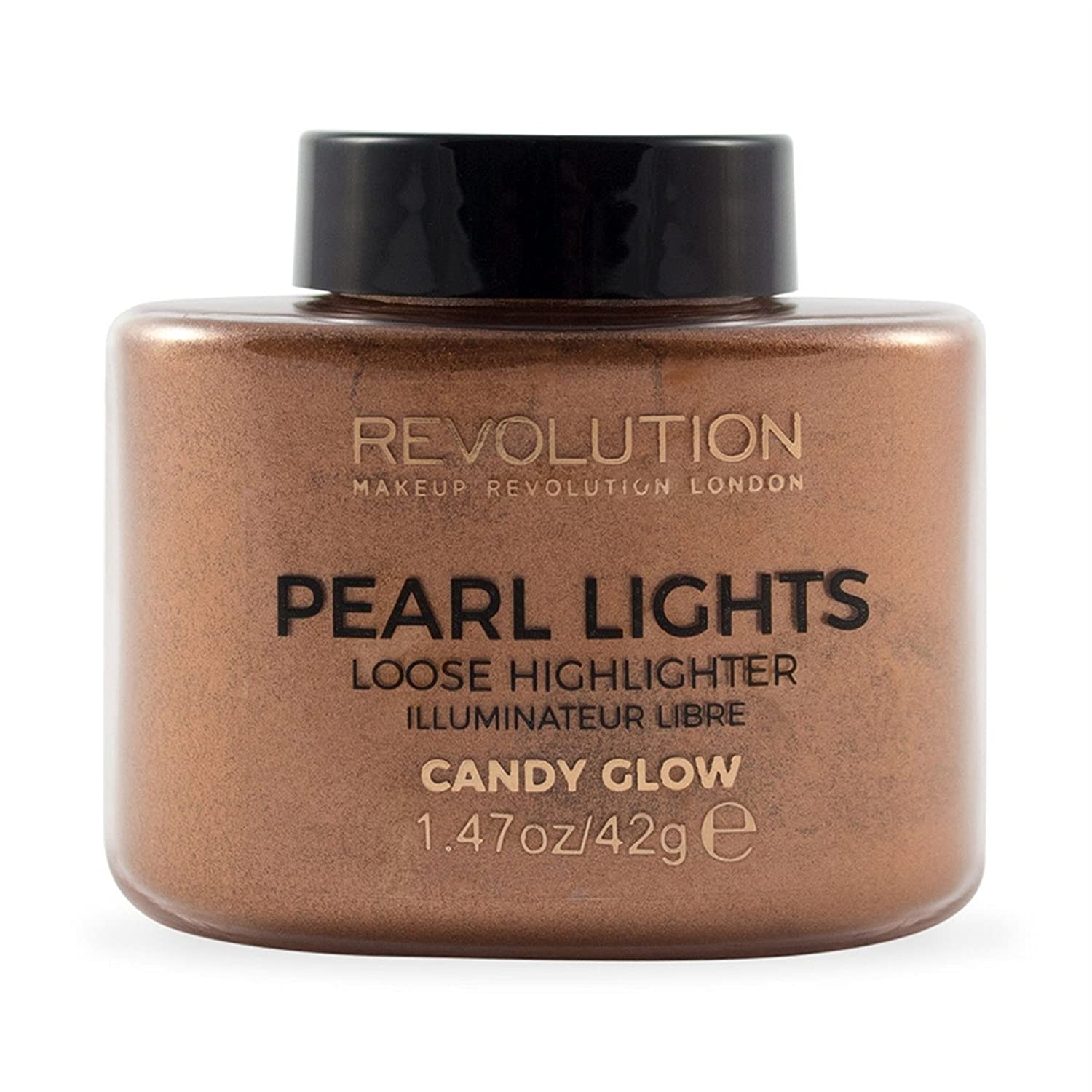 makeup Revolution Pearl luci Loose evidenziatore Candy Glow 5057566005128