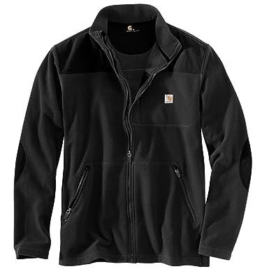 6610a46557c6e Carhartt Men s 102838 Fallon Full-Zip Sweater Fleece - Medium Regular -  Black