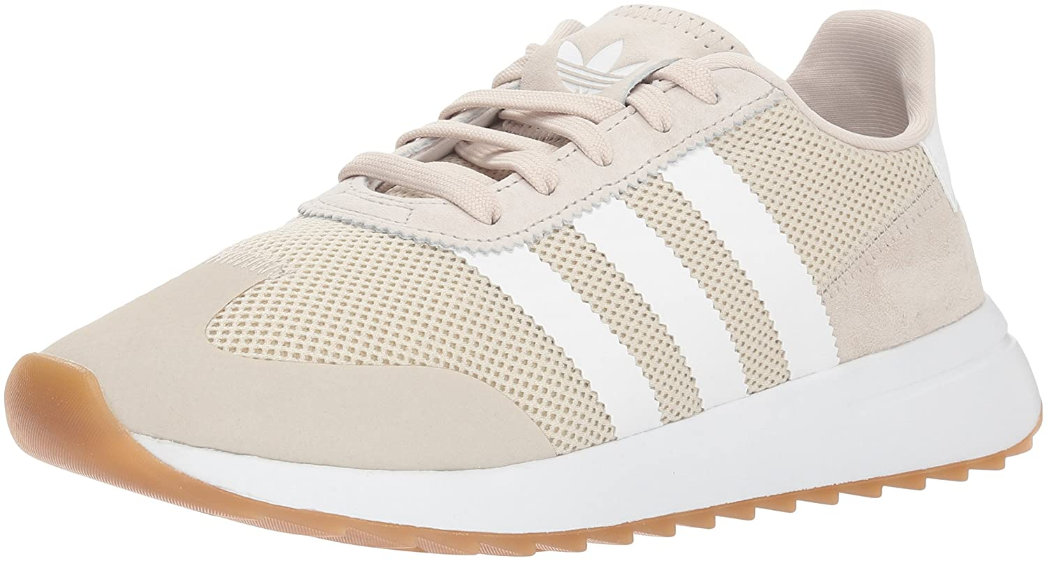 adidas Originals Women's FLB_Runner W Running Shoe B077XFL2KY 7.5 M US|Clear Brown/Clear Brown/White