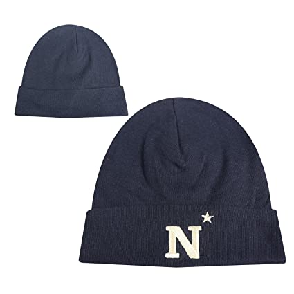 52dfb239e95f91 Image Unavailable. Image not available for. Color: Naval Academy Navy Baby  Beanie ...