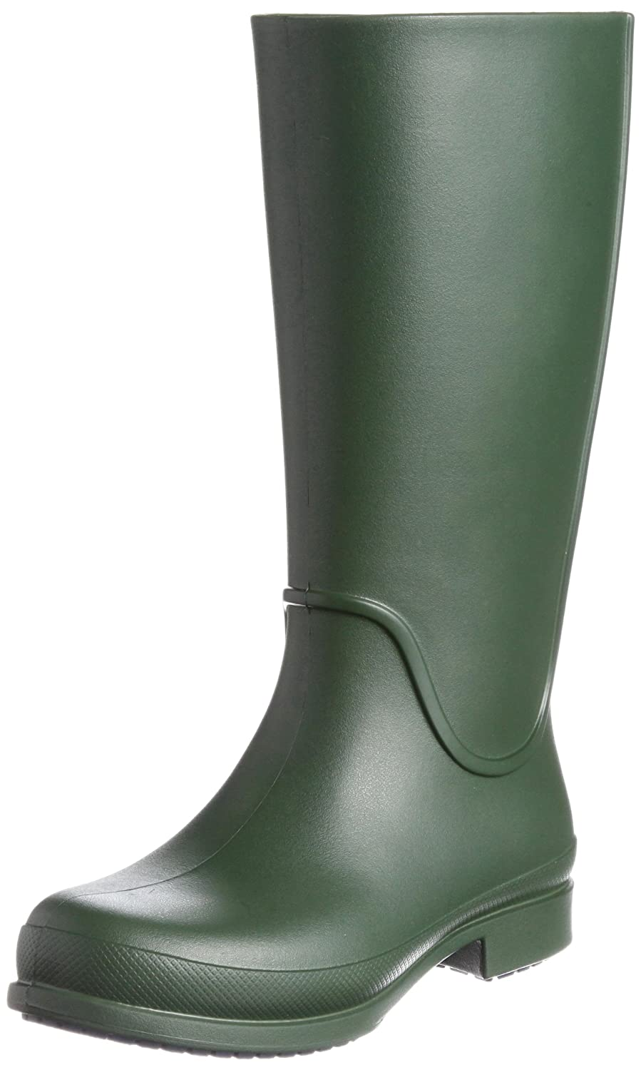 Crocs Womens Wellie Waterproof Rain Boot Shoes B007B851AI 6 B(M) US|Forest / Navy