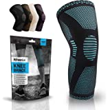 POWERLIX Knee Compression Sleeve - Best Knee Brace for Knee Pain for Men & Women – Knee Support for Running, Basketball…