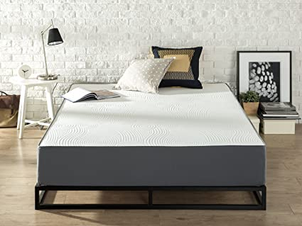 Amazon Com Zinus 10 Viscolatex Memory Foam Mattress Queen