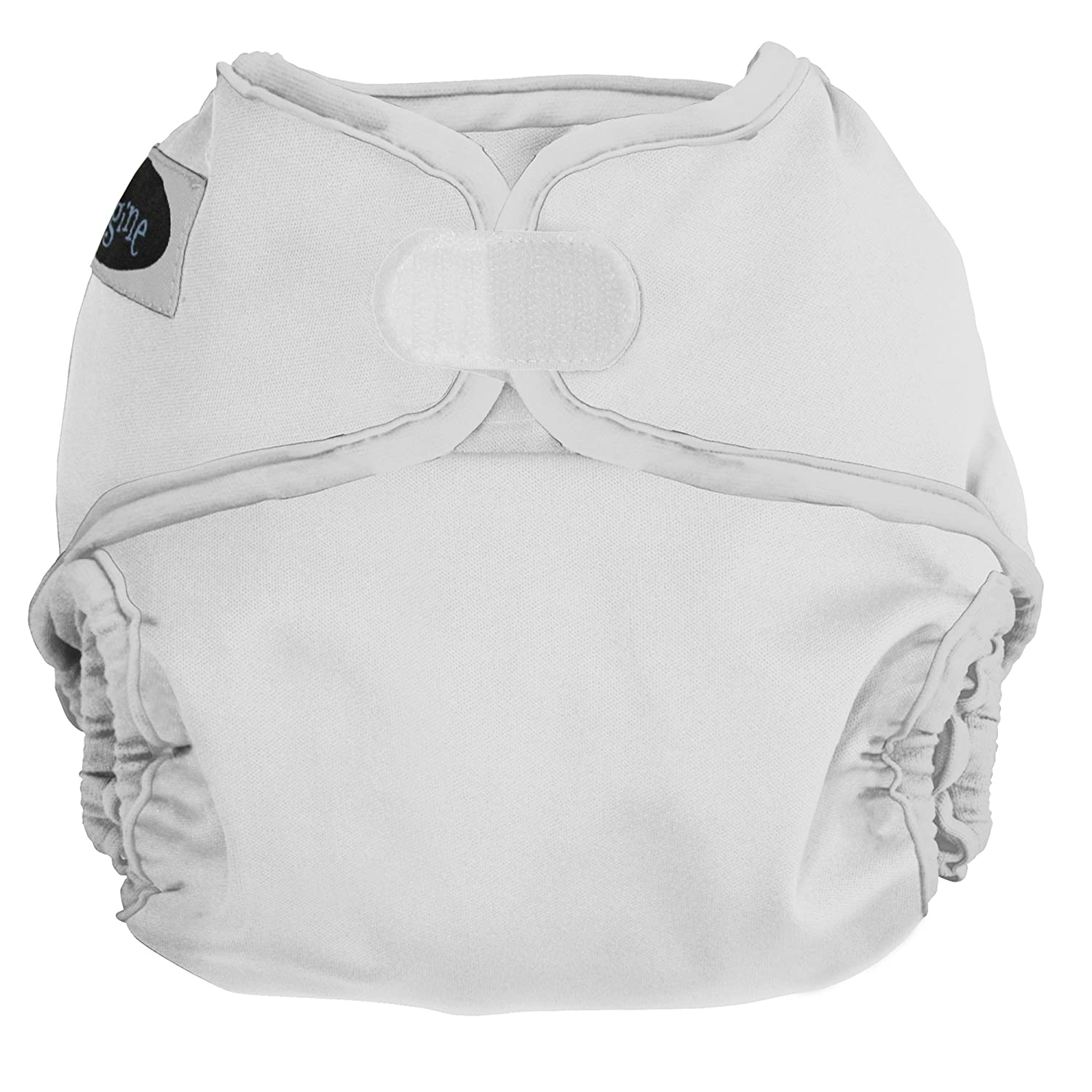 Imagine Baby Products Hook and Loop Diaper Cover, Snow by Imagine Baby Products   B00FLXNKX0