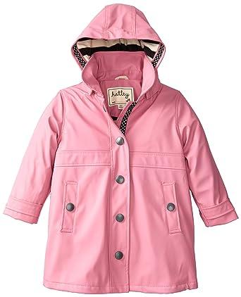 eab22f6bc6f4 Hatley Orchid Lily Girls Splash Jacket  Amazon.co.uk  Clothing