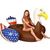 Kangaroo Pool Floats; Bald Eagle Pool Raft, 6.5 Ft