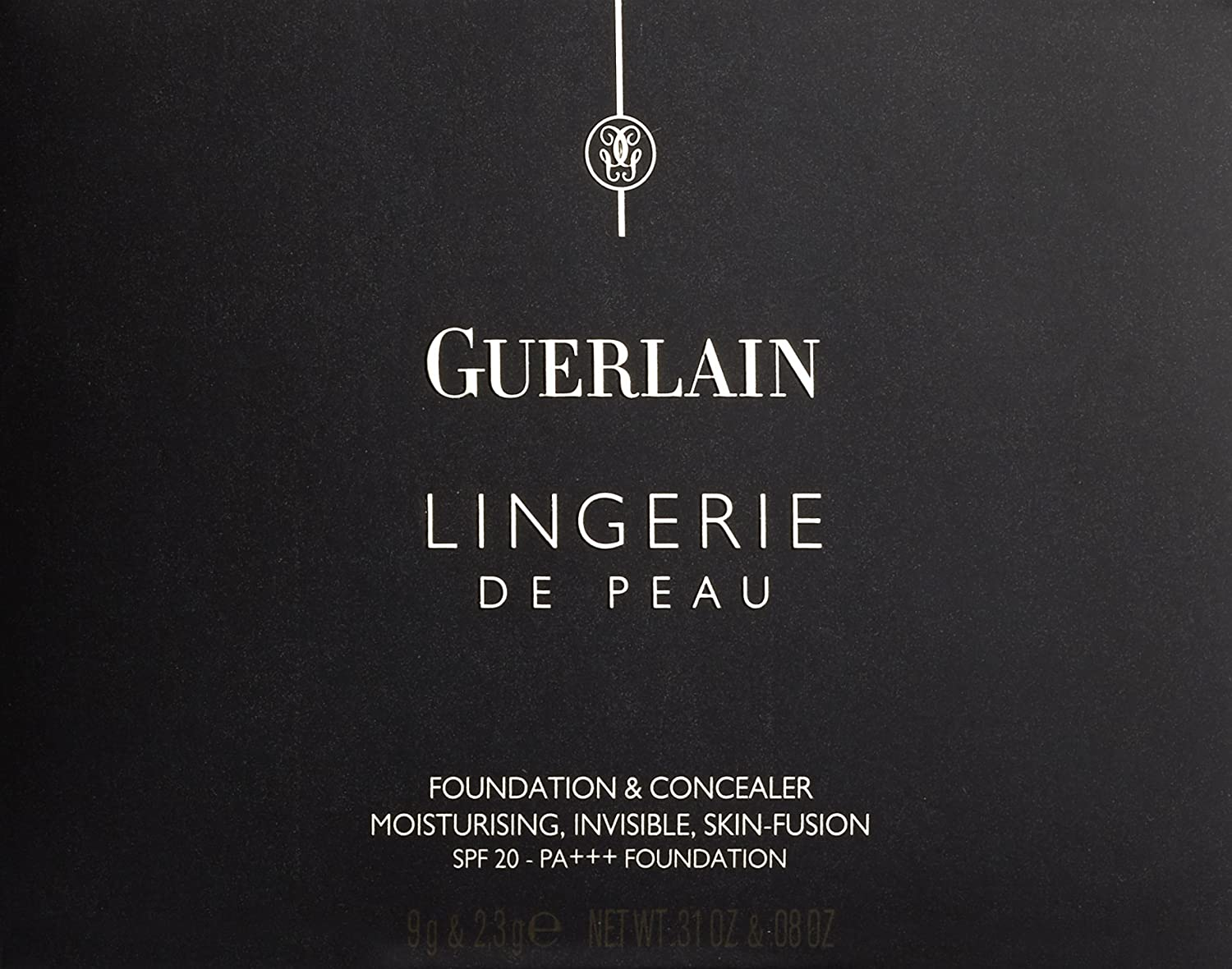 Guerlain Lingerie de Peau Foundation SPF 20 for Women, 03 Beige Naturel, 0.39 Ounce