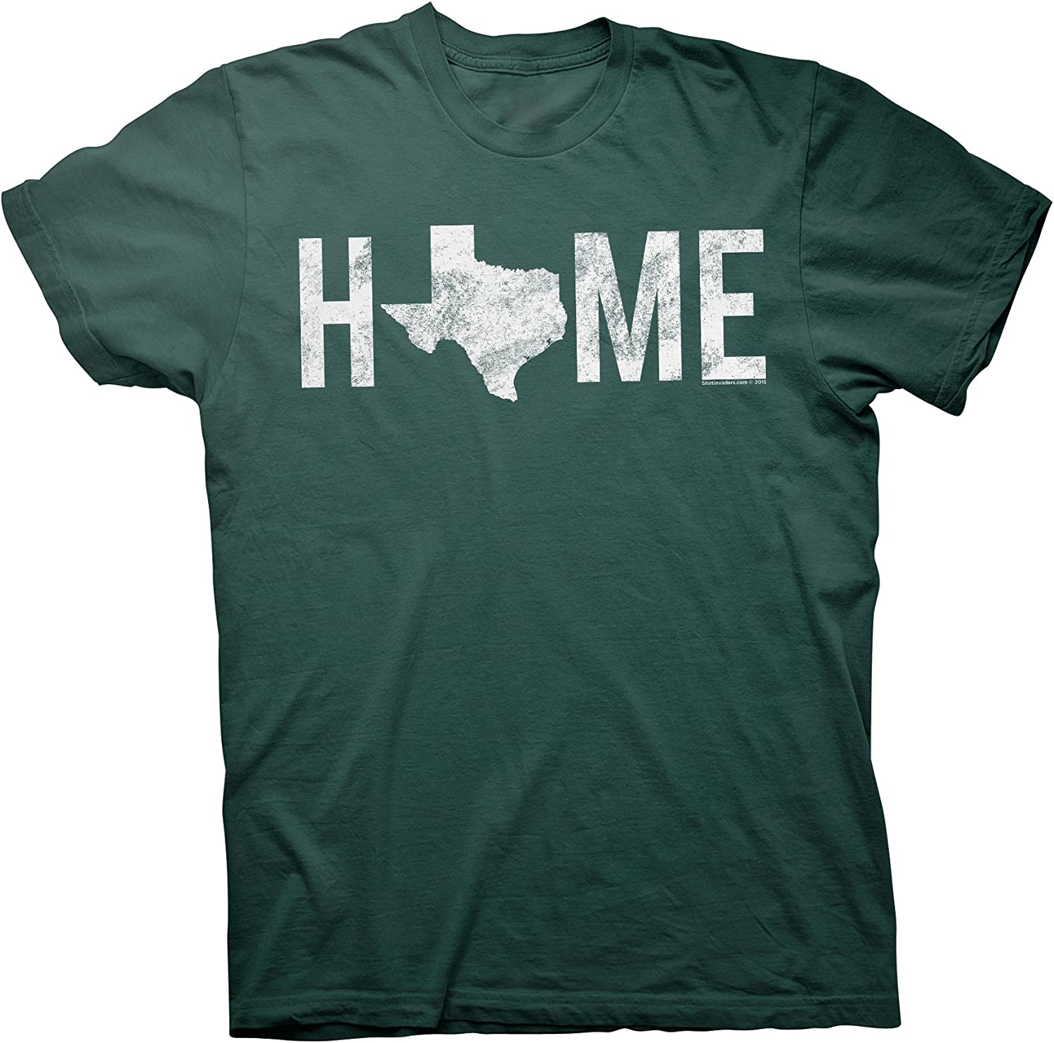 ShirtInvaders Texas is Home - Proud Texan Lone Star State T-Shirt