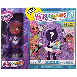 Hairdorables - Collectible Surprise Dolls and Accessories: Series 3 with Bonus Bestie (Kali)