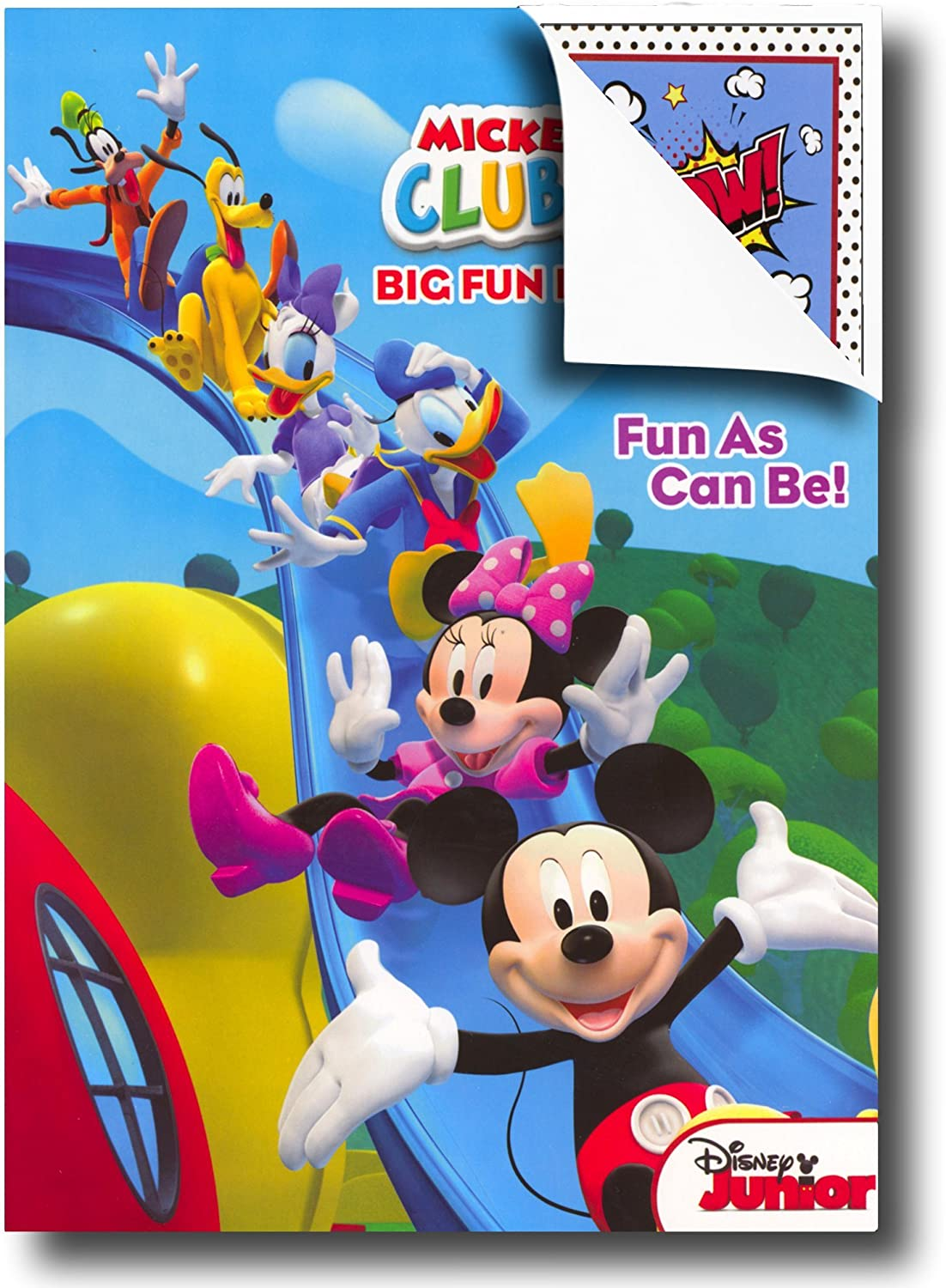 - Amazon.com: Disney Coloring Books For Kids With Sticker - Mickey