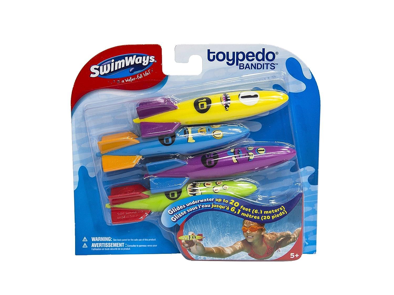 Jakabel Swimways /pool toy toypedo bandits infantil