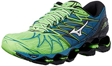 25277ab91a70c Mizuno Wave Prophecy 7, Chaussures de Running Homme, Multicolore  (Greengecko Silver