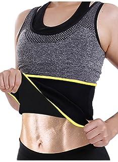 a95ca60faf GAODI Women Waist Trainer Belt Sauna Band Neoprene Seamless Body Shaper  Weight Loss Cincher Corset