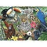 Royal & Langnickel PCL3 Séries Peinture d'après les chiffres Toile d'artiste Montage zoo Large