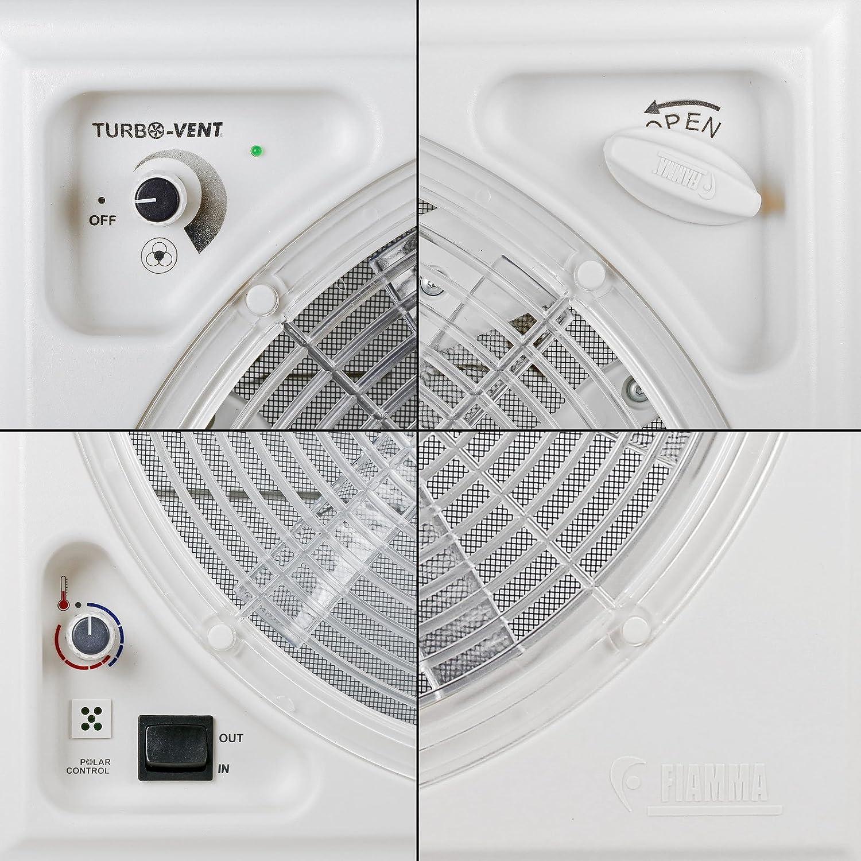 Fiamma claraboya polar control Turbo Vent con termostato y sellador para caravana o autocaravana: Amazon.es: Coche y moto