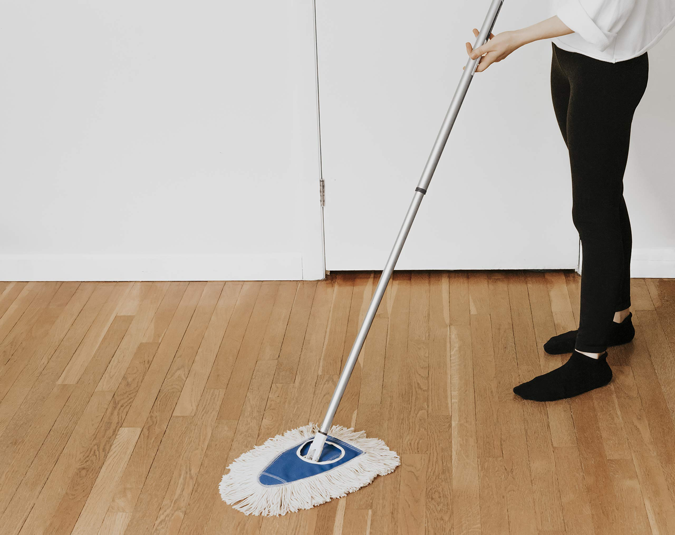 Fuller Brush Dry Mop Head with Frame & Adjustable Telescopic Handle (Dry Mop Complete) by Fuller Brush (Image #3)