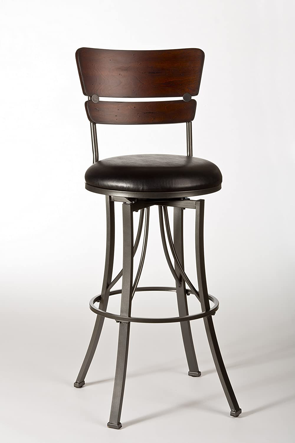 Amazon.com: Swivel Stool (26 in. Counter Height): Kitchen & Dining