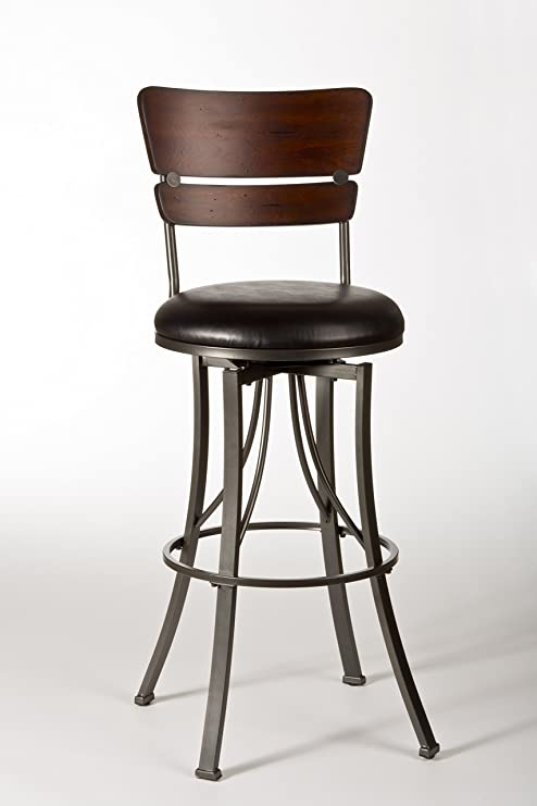 Tremendous Hillsdale Furniture Swivel Stool 26 In Counter Height Dailytribune Chair Design For Home Dailytribuneorg