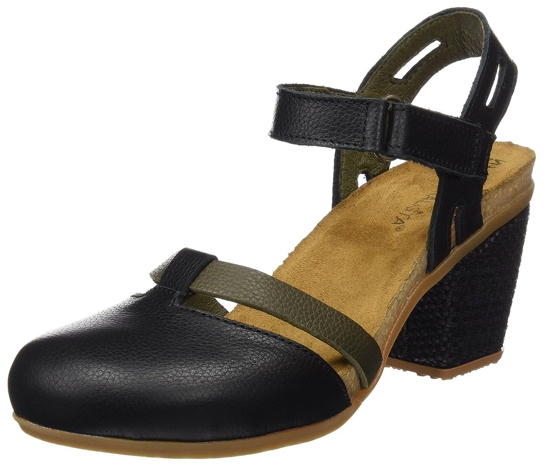 TALLA 38 EU. El Naturalista N5032, Zapatos de tacón con Punta Cerrada para Mujer