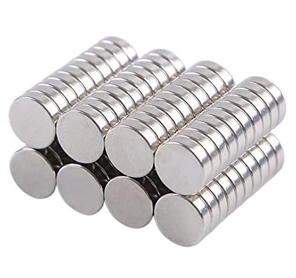 """100 Neodymium Magnets 1//4/"""" x 1//8/"""" Crafts Hobby 6mm x 3mm N35 Disc Magnets"""