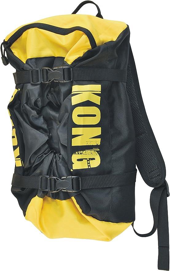 Kong Rope Bag Mochila Bolsa de cuerda libre, negro / amarillo ...
