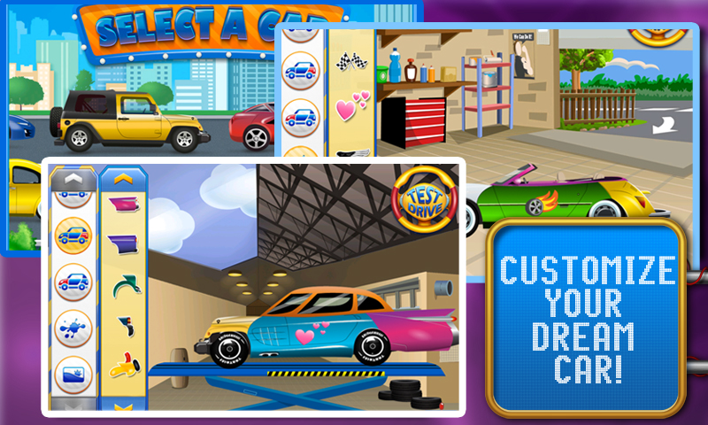 amazon com amazing car creator design your vehicle appstore for