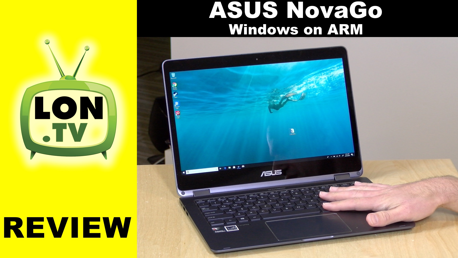 Windows on ARM: Asus NovaGo TP370QL Review: 2-in-1 Laptop