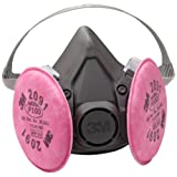 3M 6391 P100 Reusable Respirator Gas Mask - Large