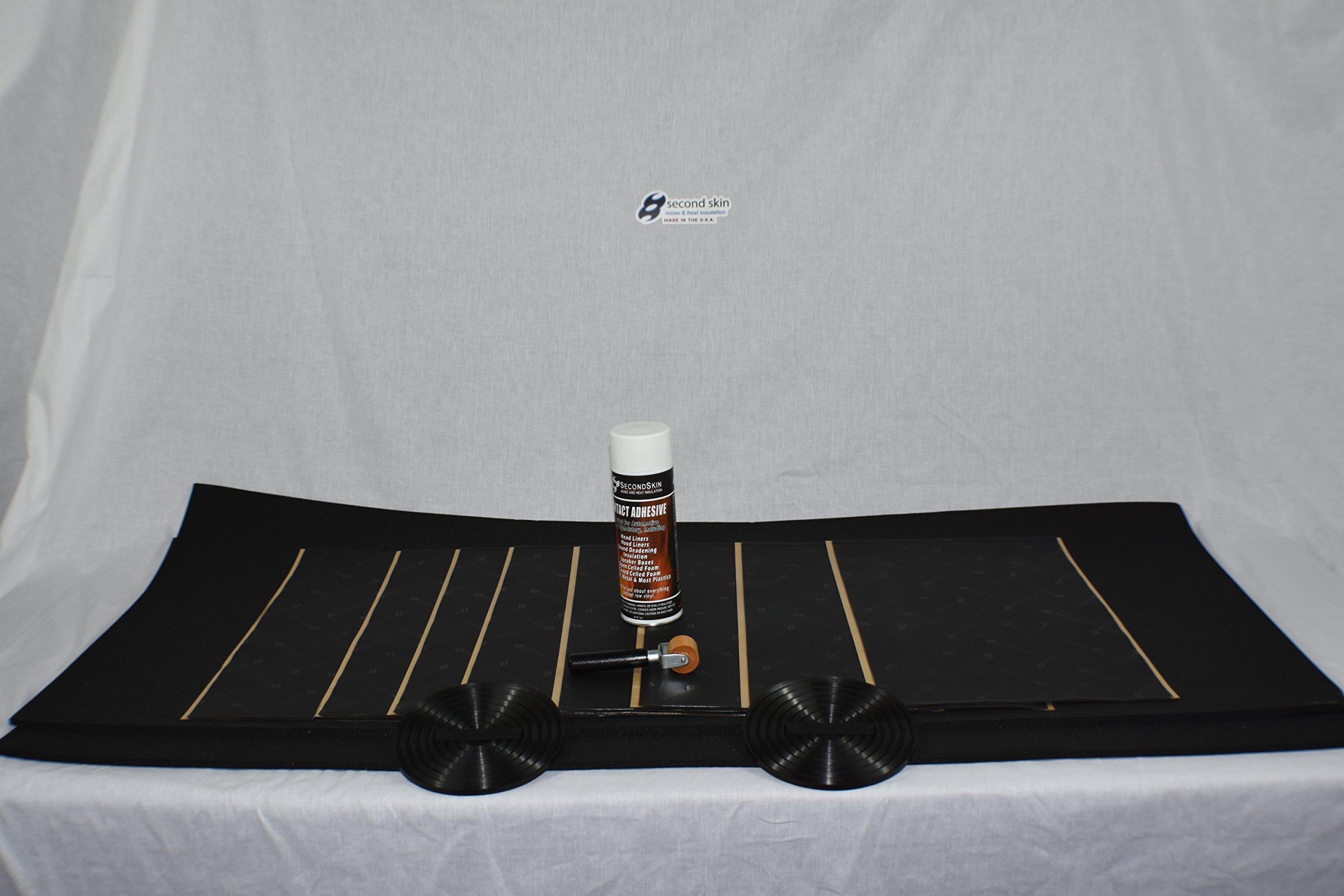 Second Skin Audio Door Kit (2 Doors) - CLD + CCF
