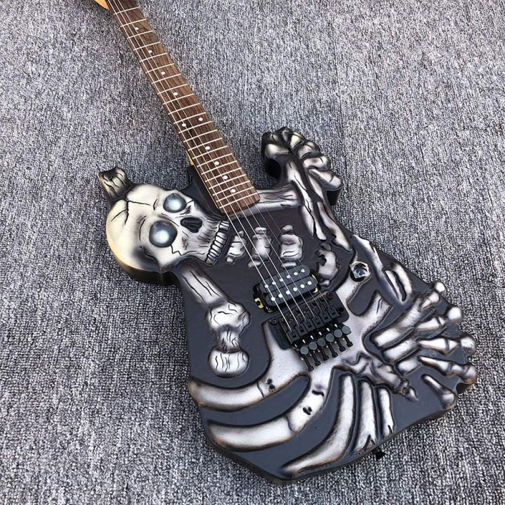 SYXMSM Guitar Beginner Guitars Guitarra acustica Acoustic Guitarra Eléctrica Guitarra Tallada Guitarra De Hardware Negro Sistema De Trémolo De Acero Acústico Guitarras De Cuerda Acoustic Guitars