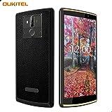 Oukitel K7 Power SIMフリースマートフォン 10000mAhバッテリー 6.0インチ 18:9 HD +スクリーン 携帯電話本 Android 8.1 体 4G LTE 移动电话 MT6750T Octa-Core 1.5GHz 2GB RAM 16GB ROM 13MP + 2MP + 5MPカメラ 指紋認識 一年保証