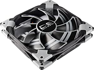 AeroCool Fan Cooling for PC, DS 120mm (Black)