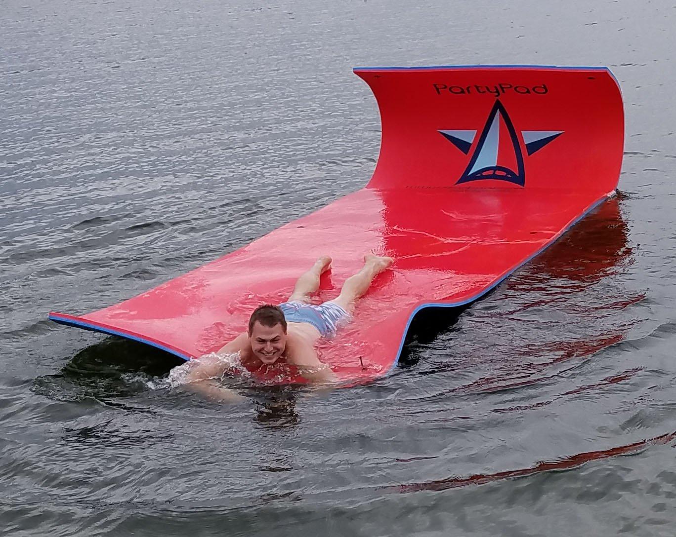 Vico Marine Floating Foam Pad - Red/Blue by Vico Marine (Image #5)