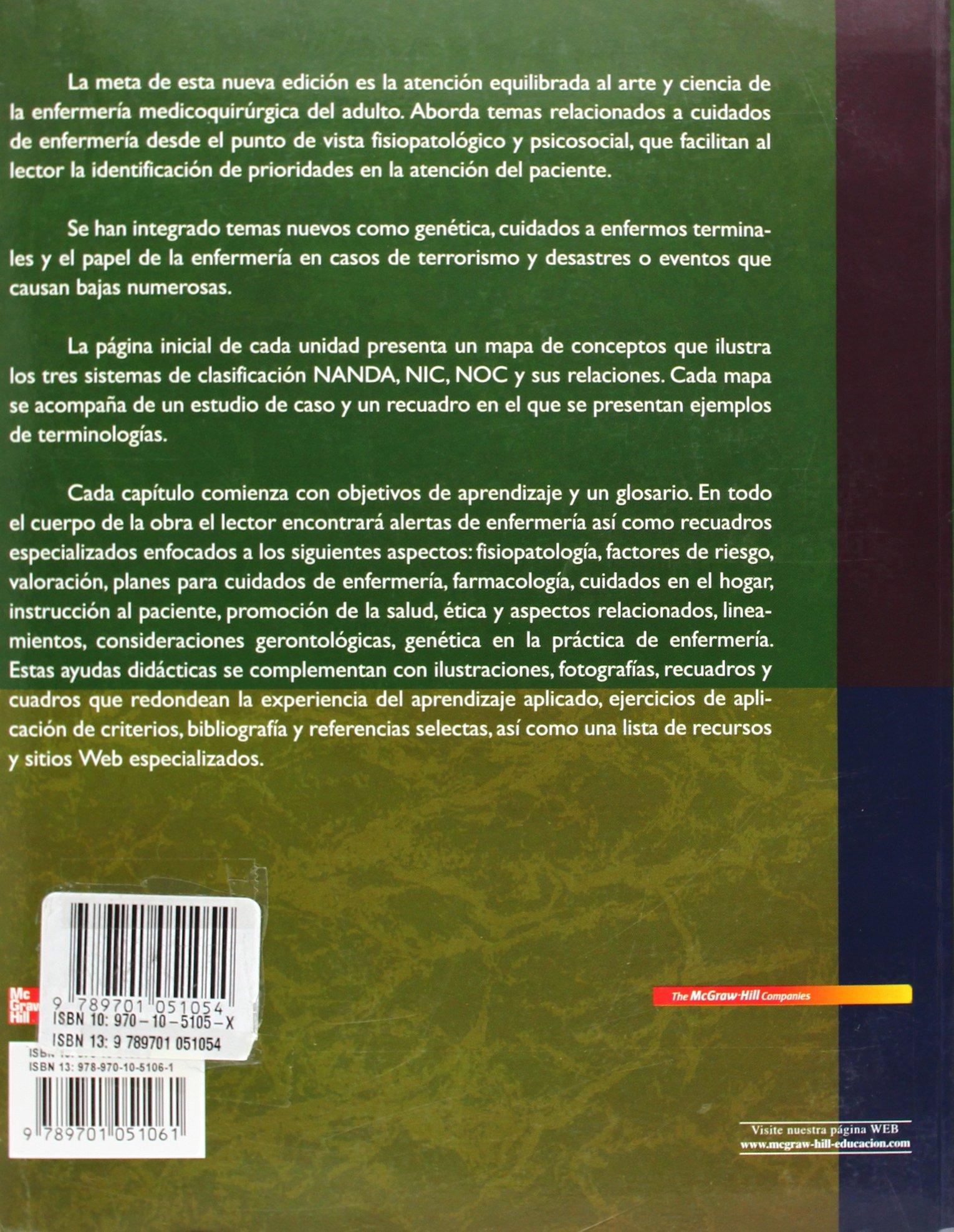 enfermeria medico quirurgica brunner y suddarth 10 edicion