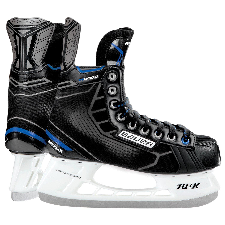 Bauer JR BTH16 Nexus N 6000 Skates, Black, R 4.0