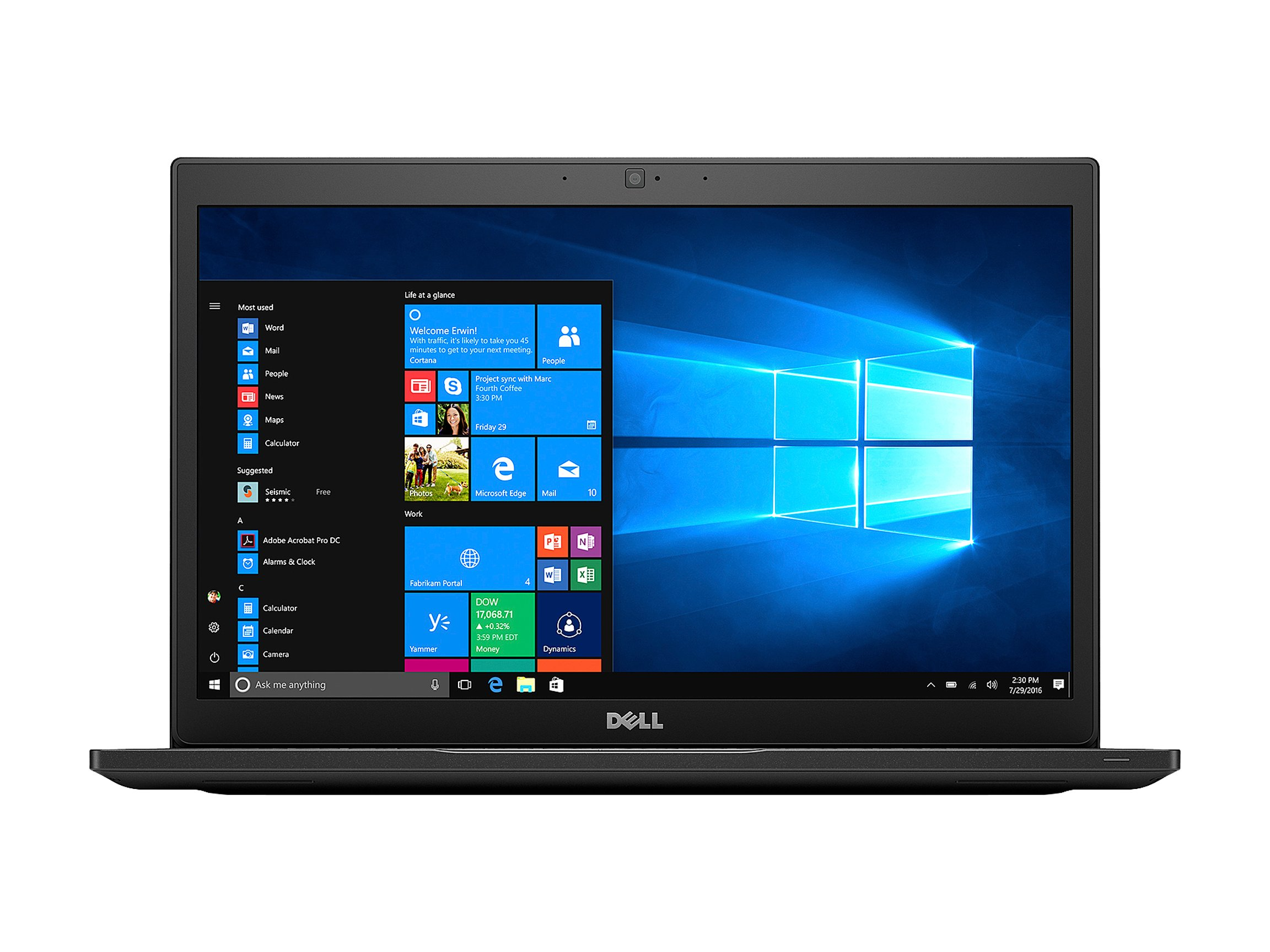 "TW Dell Latitude 7490 Intel Core i7-8650U 16GB DDR4 RAM, 512GB SSD 14"" FHD Windows 10 Pro Laptop"