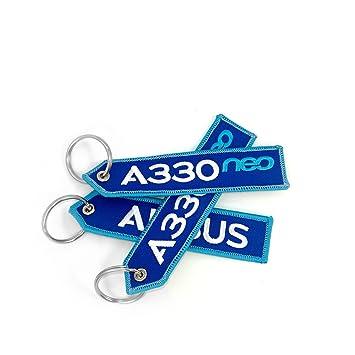 Airbus A330 Neo llavero: Amazon.es: Oficina y papelería