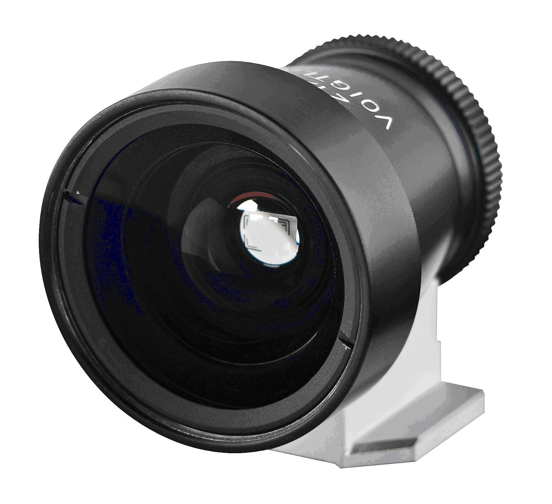 Voigtlander Viseur Metal 21//25 mm pour Appareil photo Noir
