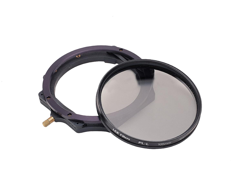 Cristal, 10 x 10 mm Lee Filters CIRCPLGLS100U2 Filtro polarizador Circular