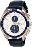 Casio Edifice Chronograph Off-White Dial Men's Watch - EFR-539L-7CVUDF (EX306)