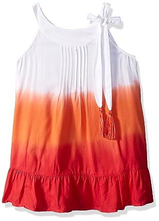 c70b41128f Amazon.com: OndadeMar Girls Camellia Short Dress Cover-up: Clothing
