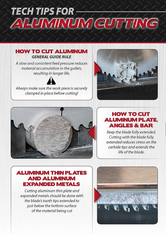 High Quality MK Morse CSM1072NAC Metal Devil Circular Saw Blade, Aluminum Application,  10 Inch Diameter, 72 TPI, 5/8 Inch Arbor     Amazon.com