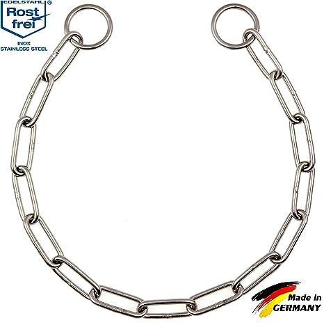 Cadena de acero inoxidable para perros con eslabones largos ...